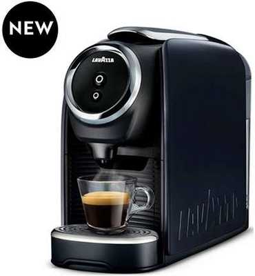 #9. Lavazza 041953000648 Blue Classy Mini-Single Serve Espresso Coffee Machine LB-300