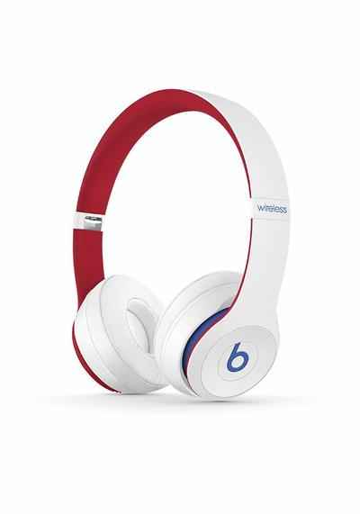 1. Beats Solo3 On-Ear Beats Club Collection Comfort-Cushioned Wireless Headphones (Club White)