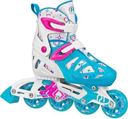 #10. Roller Derby Smooth Ride Indoor Girls Tracer Adjustable Inline Skates