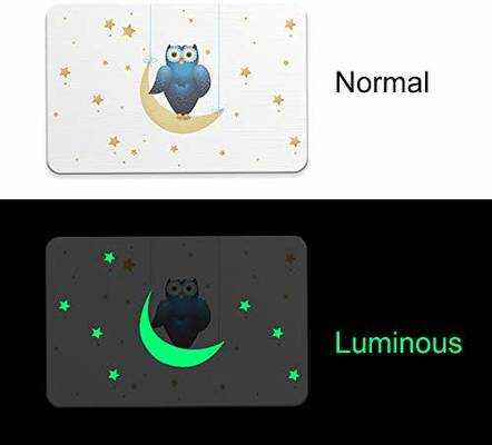 #10. JK Furniture Luminous Deodorant Absorbent Non-Slip Natural Diatomaceous Earth Mat (OWL)