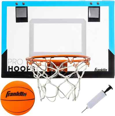 #8. Franklin Sports Shatter Resistant Slam Dunk Approved Sports-Over-the Door Mini Basketball Hoop