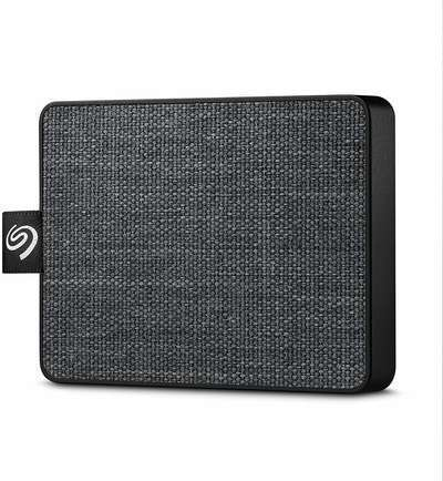 #7. Seagate STJE1000400 Portable USB 3.0 One-Touch 1TB SDD External Hard Drive