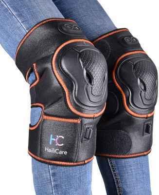 #6. HailiCare Brace Wrap Wireless Rechargeable Heat & Vibration Massage for Joint Pain