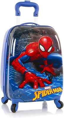 #3. Marvel 18'' Spider-Man Lightweight Easy-To-Carry Vibrant Spinner Spiderman Hard Side