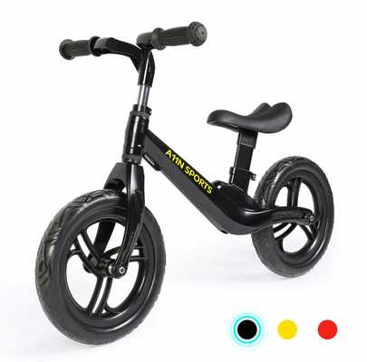 #4. A11N Sports Lightweight 4.65lbs Magnesium Alloy Balance Bike for Toddlers & Kids