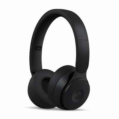 2. Beats Solo Pro Noise Cancelling Auto On/Off Bluetooth-Enabled On-Ear Wireless Headphones (Black)