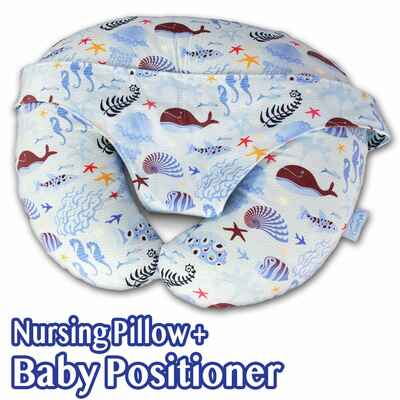 #7. Comfyt Breastfeeding Baby Lounger Multifunctional Nursing Pillow & Positioner for Mom's Baby