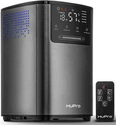 #8. Hupro 4L Capacity 30H Top-Filling Cool & Warm Ultrasonic Premium Mist Humidifier