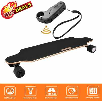 #4. Aceshin 250W Motor 7 Layer Maple Waterproof IP54 Electric Skateboard with Remote Control