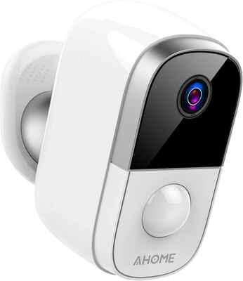 #7. AHOME 2.4 Ghz Cloud Storage 2-Way Audio Waterproof C1 Wireless Baby Monitor (Black)