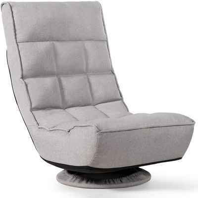 #10. Giantex 4 Position 330lbs Support Comfortable Backrest Lazy Sofa Chair for Teens & Adults