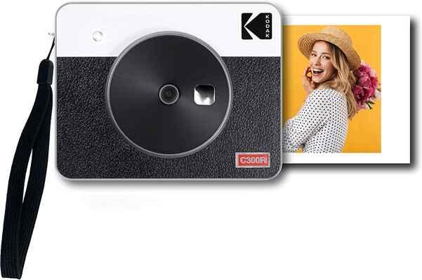 #3. KODAK Premium Quality 3 Retro Laminated Finish 4 Pass Mini Portable Printer (White)