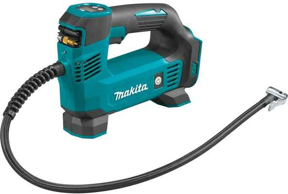 #3. Makita DMP180ZX 120 PSI Capability Lithium-Ion 18V LXT Cordless Tire Inflator, Tool Only