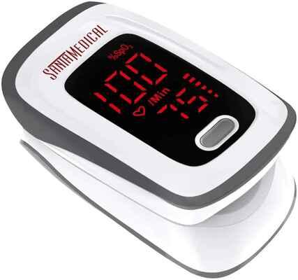 #6 Santamedical LED Display SpO2 Portable Digital Reading Fingertip Pulse Oximeter