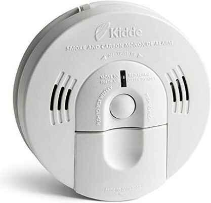 #6. Kidde KN-COSM-IBA CO Battery Operated Smoke Detector w/Backup Battery
