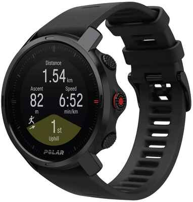 #5. POLAR Grit X Outdoor Rugged GPS, Altimeter, Compass & Military Level Ideal for Hiking