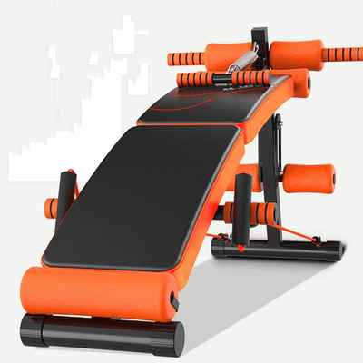 #9. KKLTDI Adjustable Incline Foldable Sit Up Bench Fitness Bench Exercise Equipment Sit Up Incline