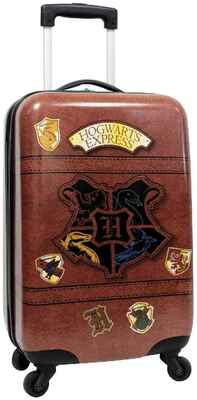 #2. Harry Potter Carry-On 21'' Hard-Sided Suitcase Tween Spinner Hogwarts Express Kid's Travel Trolley