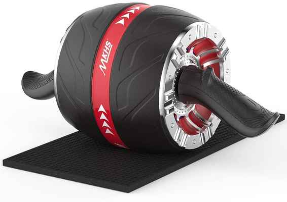 #5. MKHS Heavy-Duty Core Workout Ab Roller Wheel Versatile & Practical for Abdominal Exercise