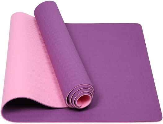 #7. Mersuii ¼'' Floor Exercise & Pilates Eco-Friendly Non-Slip Floor Exercises Fitness Yoga Mat