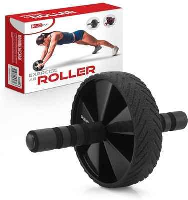 #10. RUBEX Ab Wheel Machine Workout Equipment for Full Body Fitness Training for Men & Women