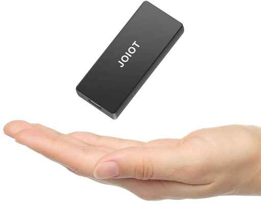 #10. JOIOT 250GB Ultra-Light Mini-Gaming Portable External SSD for Windows Android, etc.