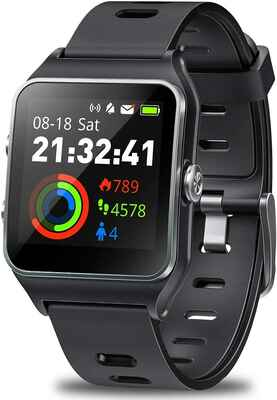 #4. DR.VIVA Touch Screen GPS Activity Tracker GPS Running Watch for Men & Women w/17 Sport