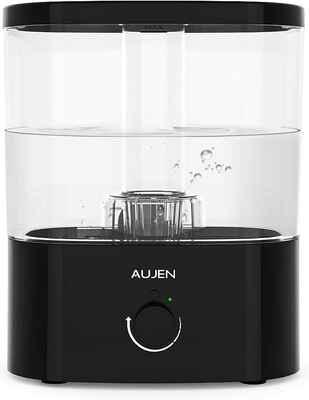 #10. Aujen Auto-Shut-Off Ultrasonic 5L Cool Mist Humidifier for Babies w/Essential Oil Tray