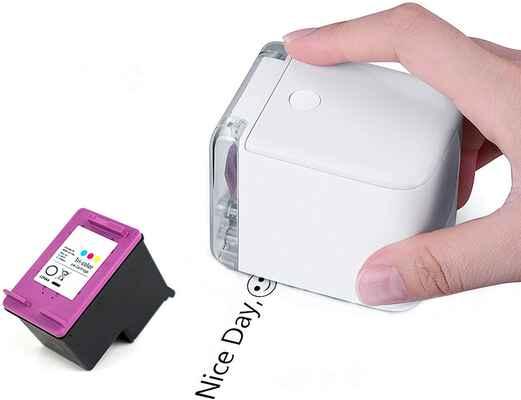 #2. UpdateClassic Advanced Inkjet Wi-Fi Connect Handheld Full Color Portable Mini Printer