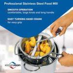 Top 10 Best Stainless Steel Vegetable Mills in 2021 Reviews